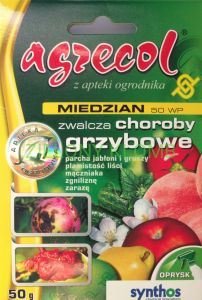 Miedzian 50WP A 50G AGRECOL