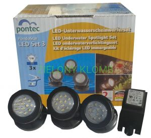 N-Pondostar LED SET 3 57520 Pontec