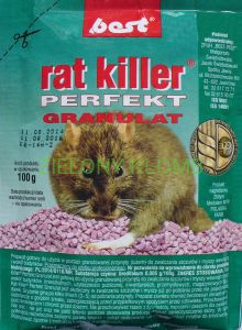 RAT KILLER PERFECT 100G