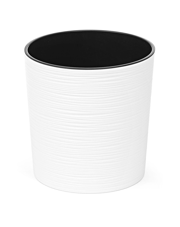 Doniczka Malwa Dłuto 25cm Biały Lamela